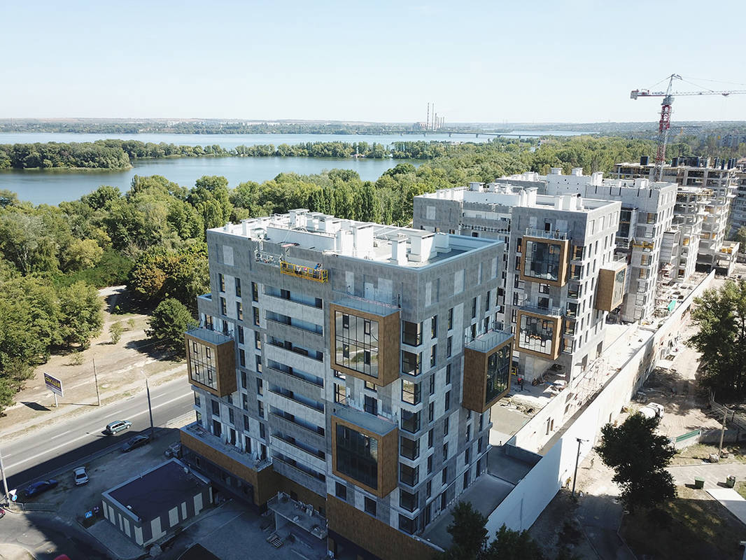 "Video presentation of the current construction progress of the residential complex ""Fifth Continent"" from 4.09.2019"