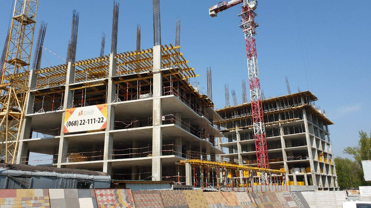 Photo report of the construction of the residential complex
