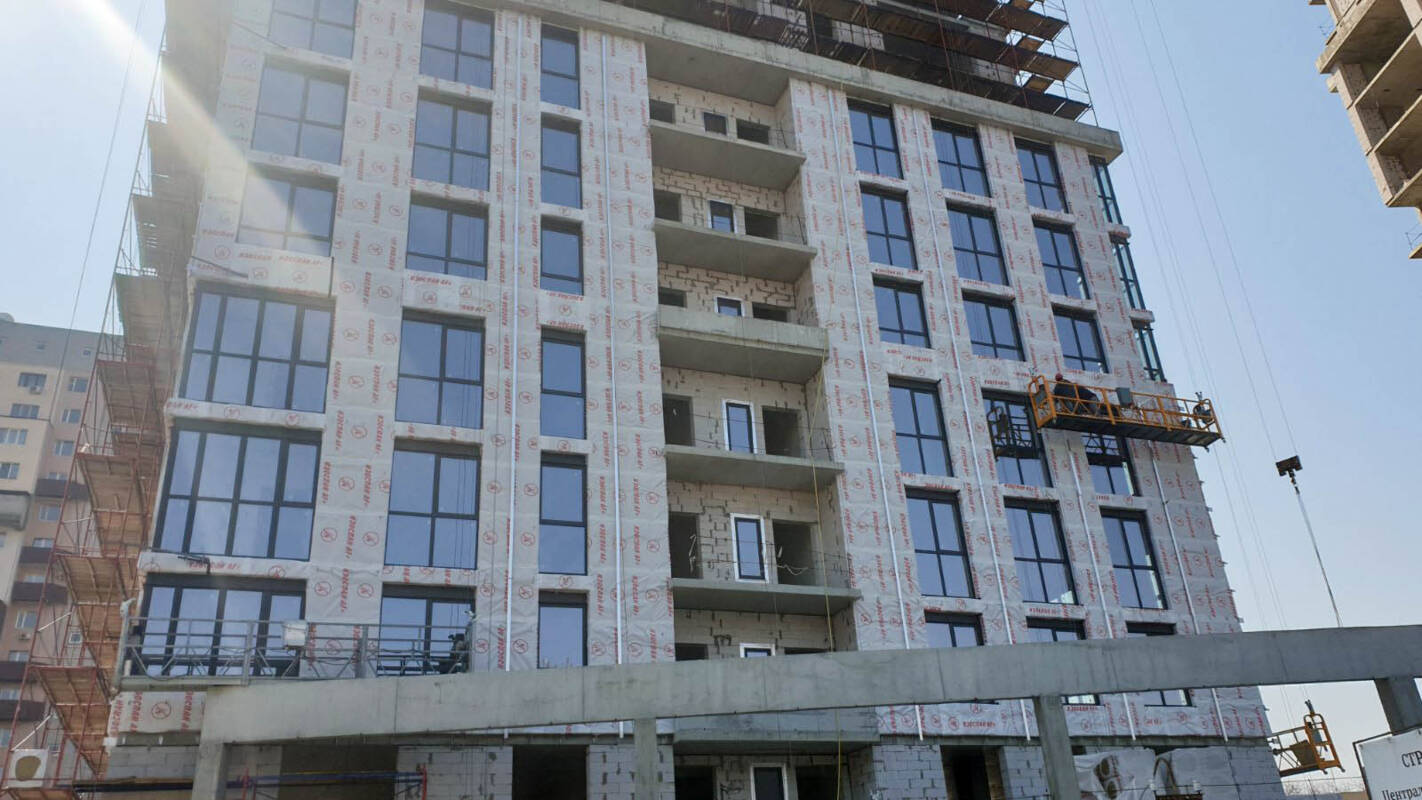 Photo report of the construction of the residential complex «Grani» from 4.04.2020
