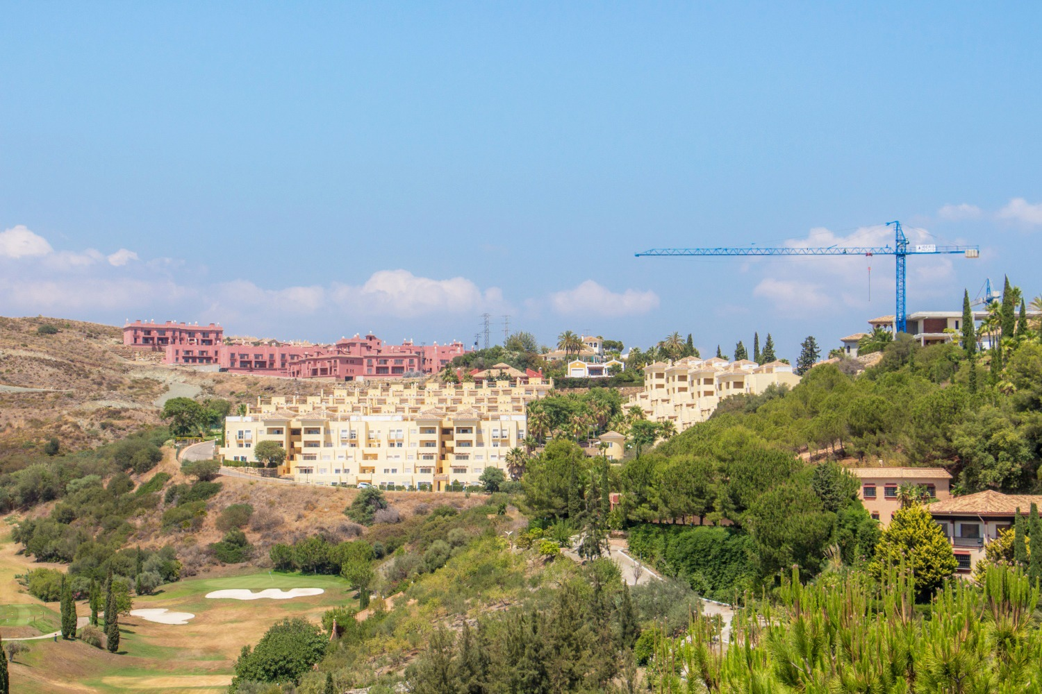 Photo report of the construction of the villa «Los Flamingos 11»